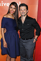PASADENA, CA, USA - APRIL 08: Daniella Alonso, Freddy Rodriguez at the NBCUniversal Summer Press Day 2014 held at The Langham Huntington Hotel and Spa on April 8, 2014 in Pasadena, California, United States. (Photo by Xavier Collin/Celebrity Monitor)
