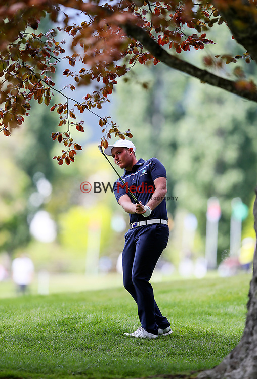 Shae Wools-Cobb of Australia during the Asia Pacific Amateur Golf Championship Round Two, Royal Wellington Golf Course, Wellington, New Zealand, 27 October2017.  Photo: Simon Watts/www.bwmedia.co.nz