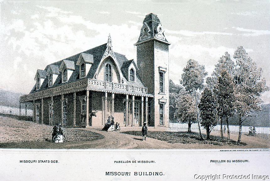 Utopia:  Centennial Exposition --Missouri Building.