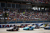 NASCAR Xfinity Series<br /> Sparks Energy 300<br /> Talladega Superspeedway, Talladega, AL USA<br /> Saturday 6 May 2017<br /> Erik Jones, Reser's American Classic Toyota Camry and Aric Almirola, Fresh From Florida Ford Mustang<br /> World Copyright: Nigel Kinrade<br /> LAT Images<br /> ref: Digital Image 17TAL1nk04629
