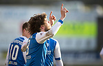 St Johnstone v Ross County…24.02.18…  McDiarmid Park    SPFL<br />Murray Davidson celebrates his second goal<br />Picture by Graeme Hart. <br />Copyright Perthshire Picture Agency<br />Tel: 01738 623350  Mobile: 07990 594431