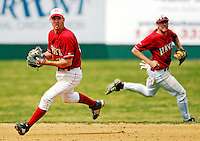 21 April 2007: University of Hartford Hawks' Ben Sobocinski, a Sophomore from Waldorf, MD, in action during a double-header against the University of Vermont Catamounts at Historic Centennial Field, in Burlington, Vermont...Mandatory Photo Credit: Ed Wolfstein Photo