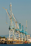 Port of Portland Container Loading Cranes