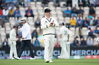 Will Young of New Zealand on as a substitute fielder during India vs New Zealand, ICC World Test Championship Final Cricket at The Hampshire Bowl on 20th June 2021