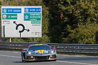 #64 CORVETTE RACING - Chevrolet Corvette C8.R: Tommy Milner - NicK Tandy - Alexander Sims, 24 Hours of Le Mans , Test Day, Circuit des 24 Heures, Le Mans, Pays da Loire, France