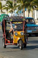 Cuba, Taxi in  Cienfuegos