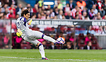 Goalkeeper Francisco Guillermo Ochoa Magana of Granada CF in action during their La Liga match between Atletico de Madrid and Granada CF at the Vicente Calderon Stadium on 15 October 2016 in Madrid, Spain. Photo by Diego Gonzalez Souto / Power Sport Images