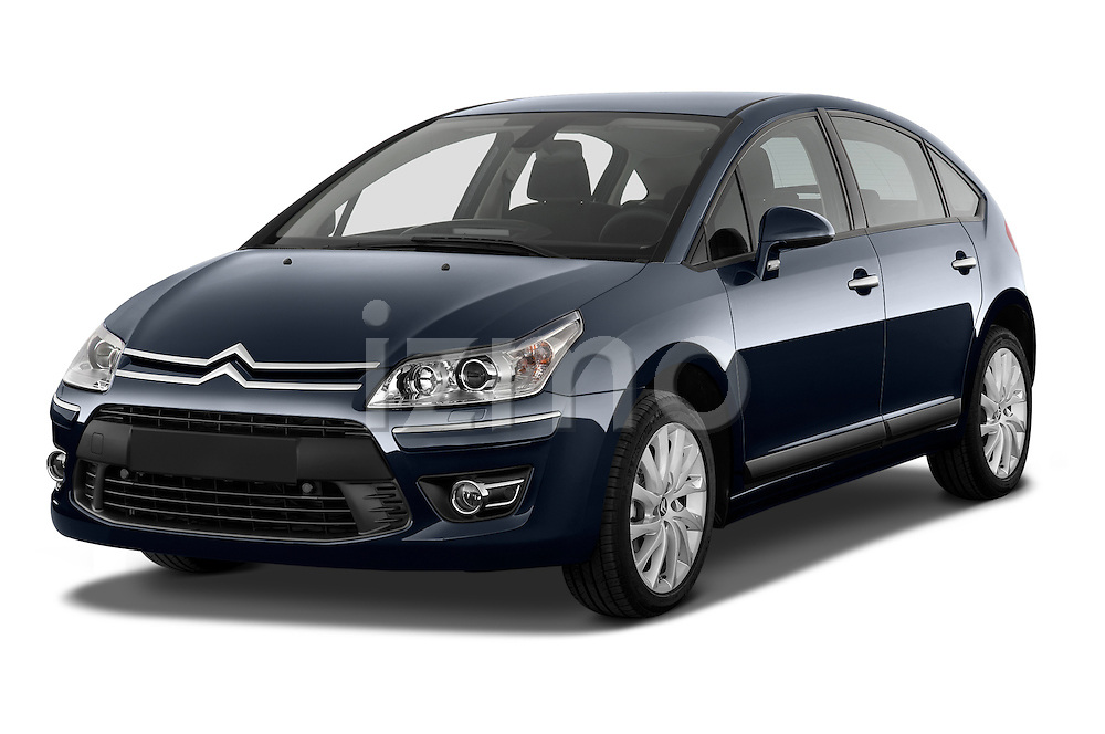 Front three quarter view of a 2010 Citroen C4 Millenium 5 Door Hatchback 2WD