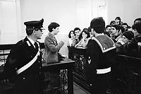 - Processo ad obiettori di coscienza presso il tribunale militare di La Spezia  (maggio 1981)<br /> <br /> - Trial against conscientious objectors at the Military Court of La Spezia  (May 1981)