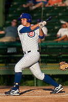 Rebel Ridling (33) of the Daytona Cubs during a game vs. the Brevard County Manatees June 10 2010 at Jackie Robinson Ballpark in Daytona Beach, Florida. Brevard won the game against Daytona by the score of 12-8. Photo By Scott Jontes/Four Seam Images