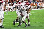 Arkansas Razorbacks defensive tackle Taiwan Johnson (94) in action during the Advocare V100 Texas Bowl game between the Arkansas Razorbacks and the Texas Longhorns at the NRG Stadium in Houston, Texas. Arkansas defeats Texas 31 to 7.