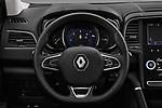 Car pictures of steering wheel view of a 2017 Renault Koleos Zen 5 Door SUV