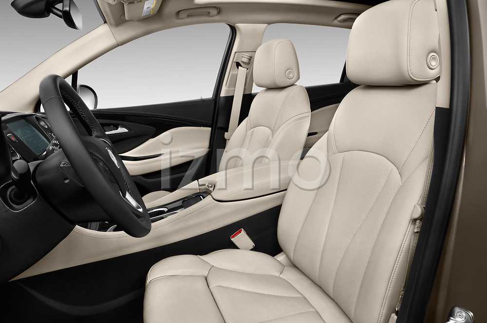 Front seat view of 2018 Buick Envision Premium-II-AWD 5 Door SUV Front Seat  car photos