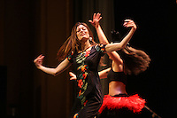 Polynesian dance during a showcase at the Paramount Theater in Charlottesville, Va. Credit Image: © Andrew Shurtleff