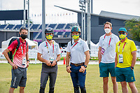 Candid moments with the Australian Equestrian Team. Tokyo 2020 Olympic Games. Saturday 31 July 2021. Copyright Photo: Libby Law Photography
