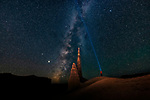 Pictured: The Milky Way at Hanksville, Utah<br /> <br /> This beautiful series of photographs shows the Milky Way as seen from different continents around the world.   Photographer Hua Zhu travelled the globe over the course of four years to capture the starry night sky from already stunning locations. <br /> <br /> The medical professor visited picturesque landmarks in the USA, Kenya, New Zealand and China, including the Great Wall in Beijing.  Chinese Dr Zhu, who lives in New Jersey, USA, said he meticulously planned the trips by researching when the Milky Way would be on show.   SEE OUR COPY FOR DETAILS<br /> <br /> Please byline: Hua Zhu/Solent News<br /> <br /> © Hua Zhu/Solent News & Photo Agency<br /> UK +44 (0) 2380 458800