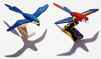 Brinquedos de miriti, artesanato paraense. Foto de João Caldas.