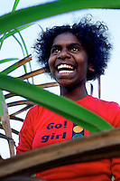 Nichaela Yarrak, Sara Clan group, Aurukun, Cape York Peninsula.