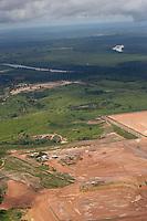 Área de implantação da Alpa - Aços Laminados do Pará.<br /> <br /> Terraplanagem da área entre a Rodovia Transamazônica e rio Tocantins.<br /> Marabá, Pará, Brasil. Primeira etapa,  trabalhos de terraplenagem para implantação da Aços Laminados do Pará - ALPA