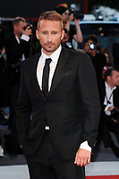Belgian actor Matthias Schoenaerts walks on the red carpet for the premiere of the movie 'Le Fidele' at the 74th Venice Film Festival on September 8, 2017 in Venice, Italy.<br /> UPDATE IMAGES PRESS/Marilla Sicilia<br /> <br /> *** ONLY FRANCE AND GERMANY SALES ***