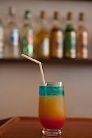 Cuba, Trinidad.  Trinidad Colonial, a Mixed Alcoholic Drink.