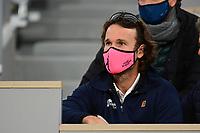 11th October 2020, Roland Garros, Paris, France; French Open tennis, mens singles final 2020; Moya - trainer of Rafael Nadal esp
