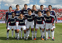 02 April 2011: The Chivas USA starting eleven  during an MLS game between Chivas USA and the Toronto FC at BMO Field in Toronto, Ontario Canada...