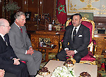 The Prince of Wales (Charles), and The Duchess of Cornwall (Camilla Parker Bowles)begin a three day official visit to Morocco..The Prince of Wales has an Audience with his Majesty King Mohammed VI, at The Palais Royale, Rabat.