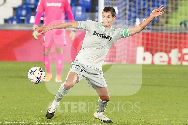Real Betis Balompie's Aissa Mandi during La Liga match. September 29,2020. (ALTERPHOTOS/Acero)