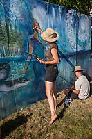 Hempfest Seattle 2016, Washington State, WA, USA.