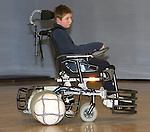 Pix: Shaun Flannery/sf-pictures.com..COPYRIGHT PICTURE>>SHAUN FLANNERY>01302-570814>>07778315553>>..21st January 2008..............Coalfields Regeneration Trust (CRT)........Nottinghamshire Powerchair Football Club, wheelchair football.