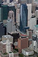 aerial photograph San Francisco financial district