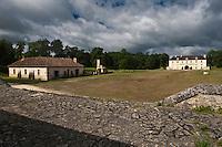 Europe/France/Aquitaine/33/Gironde/Cussac-Fort-Médoc: Le Fort Médoc construit par Vauban vu depuis le Corps de Garde de la Gironde