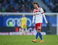 17.03.2018, Football 1. Bundesliga 2017/2018, 27.  match day, Hamburger SV - Hertha BSC Berlin, Volksparkstadium Hamburg. Gian-Luca Waldschmidt (Hamburg) dejected  *** Local Caption *** © pixathlon<br /> <br /> +++ NED out !!! +++<br /> Contact: +49-40-22 63 02 60 , info@pixathlon.de