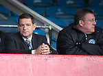 Dundee v St Johnstone....08.11.14   SPFL<br /> Saints Chairman Steve Brown (left) and Roddy Grant<br /> Picture by Graeme Hart.<br /> Copyright Perthshire Picture Agency<br /> Tel: 01738 623350  Mobile: 07990 594431