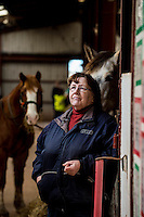 FAO Laura Lean.<br /> Friday 20 January 2017<br /> Pictured: Sue Scourfield<br /> Re: Sue Scourfield's riding school is  being hit by increasing business rates.