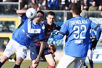 Dimitri Bisoli-Tomislav Gomelt<br /> Brescia 23-02-2019 <br /> Football Serie B 2018/2019 Brescia - Crotone <br /> Foto Image Sport / Insidefoto
