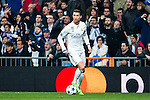 Cristiano Ronaldo of Real Madrid in action  during the match of Champions League between Real Madrid and SSC Napoli  at Santiago Bernabeu Stadium in Madrid, Spain. February 15, 2017. (ALTERPHOTOS)