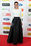 Ona Carbonell poses during AS Sport Female Awards ceremony in Madrid, Spain. December 15, 2014. (ALTERPHOTOS/Victor Blanco)