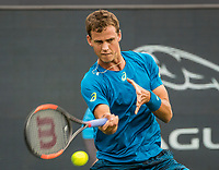 Den Bosch, Netherlands, 12 June, 2017, Tennis, Ricoh Open, Vasek Pospisil (CAN)<br /> Photo: Henk Koster/tennisimages.com