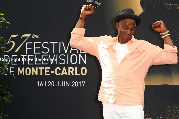 FARGAS Antonio - Photocall 'CHERIF / STARSKY ET HUTCH' - 57ème Festival de la Television de Monte-Carlo. Monte-Carlo, Monaco, 19/06/2017.