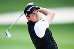 Justin Rose in actions during Round 1 of the UBS Hong Kong Golf Open 2011 at Fanling Golf Course in Hong Kong on 1st December 2011. Photo © Victor Fraile / The Power of Sport Images