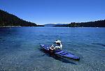 Lake Tahoe. Kayaking.