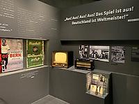 Wunder von Bern in der Ausstellung des Deutschen Fußballmuseum in Dortmund  - 08.02.2019: Deutsches Fußballmuseum in Dortmund<br /> DISCLAIMER: DFL regulations prohibit any use of photographs as image sequences and/or quasi-video.
