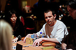 David Miscikowski has vaulted into the chip lead at the start of day 3.