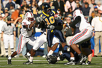 2 December 2006: Wopamo Osaisai during Stanford's 26-17 loss to Cal in the 109th Big Game at Memorial Stadium in Berkeley, CA.