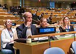 72 General Debate – 22 September <br /> <br /> <br /> <br /> Minister for Foreign Affairs of Sweden,  Margot Wallström.<br /> <br /> Delegate