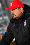 Atletico de Madrid's second coach German Mono Burgos during Champions League 2016/2017 Round of 16 2nd leg match. March 15,2017. (ALTERPHOTOS/Acero)