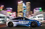 BMW cars at the FIA Formula E Hong Kong E-Prix Round 1 at the Central Harbourfront Circuit on 02 December 2017 in Hong Kong, Hong Kong. Photo by Marcio Rodrigo Machado / Power Sport Images