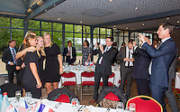Arena Loire,  Trélazé,  France, 14 April, 2016, Semifinal FedCup, France-Netherlands, Official Diner,  <br /> Photo: Henk Koster/Tennisimages